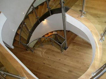 Custom built staircases